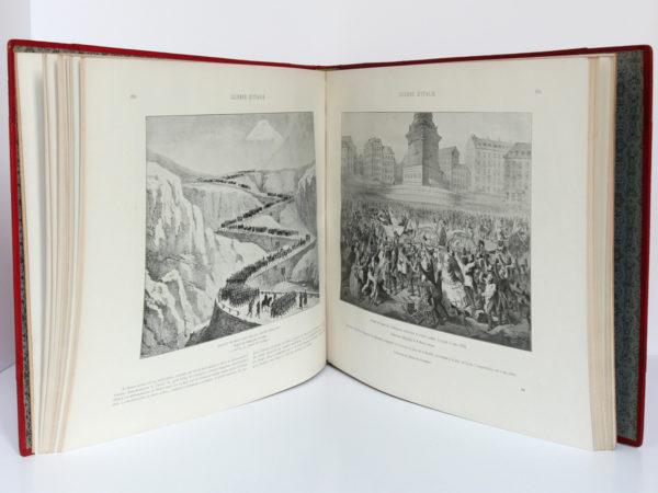 Le Second Empire (1851-1870), Armand Dayot. Flammarion, sans date. Pages intérieures 1.