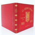 Le Second Empire (1851-1870), Armand Dayot. Flammarion, sans date. Reliure : dos et plats.
