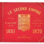 Le Second Empire (1851-1870), Armand Dayot. Flammarion, sans date. Premier plat.