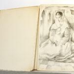 Lettres de la religieuse portugaise, lithographies de Mariette LYDIS. Fernand Hazan, 1947. Une des lithographies.