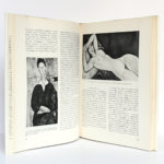 Amadeo Modigliani, Alfred WERNER. Éditions Cercle d'Art, 1968. Pages intérieures 1.