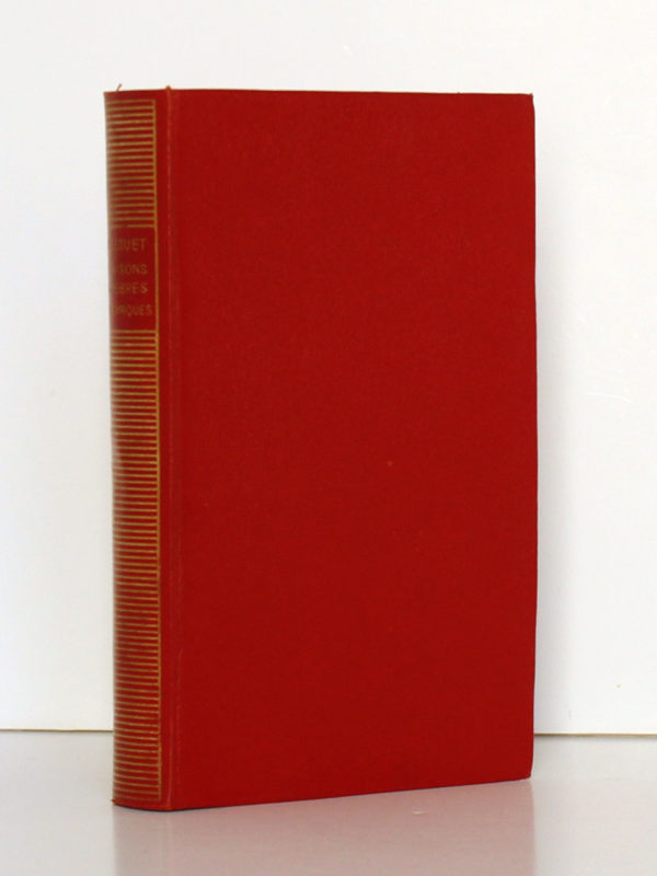 Oraisons funèbres Panégyriques, Bossuet. Bibliothèque de la Pléiade, 1936. Couverture.