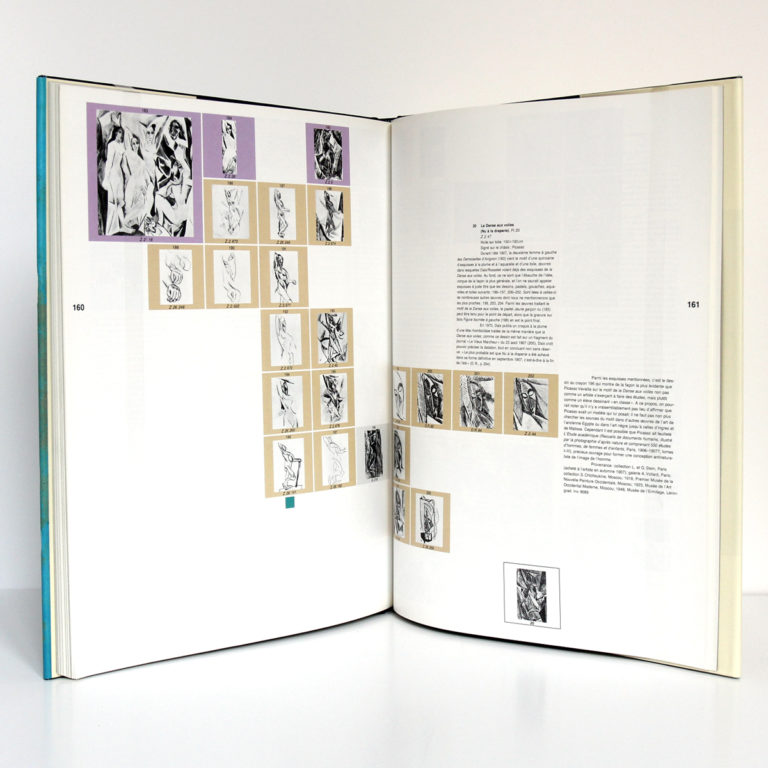Picasso La quête perpétuelle, Anatoli PODOKSIK. Éditions Cercle d'Art, 1989. Pages intérieures 2.