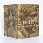 Tacite et le destin de l'Empire, Alain MICHEL. Arthaud, 1966. Couverture : dos et plats.