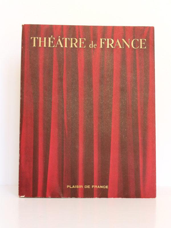 Théâtre de France I. Les Publications de France, 1951. Couverture.