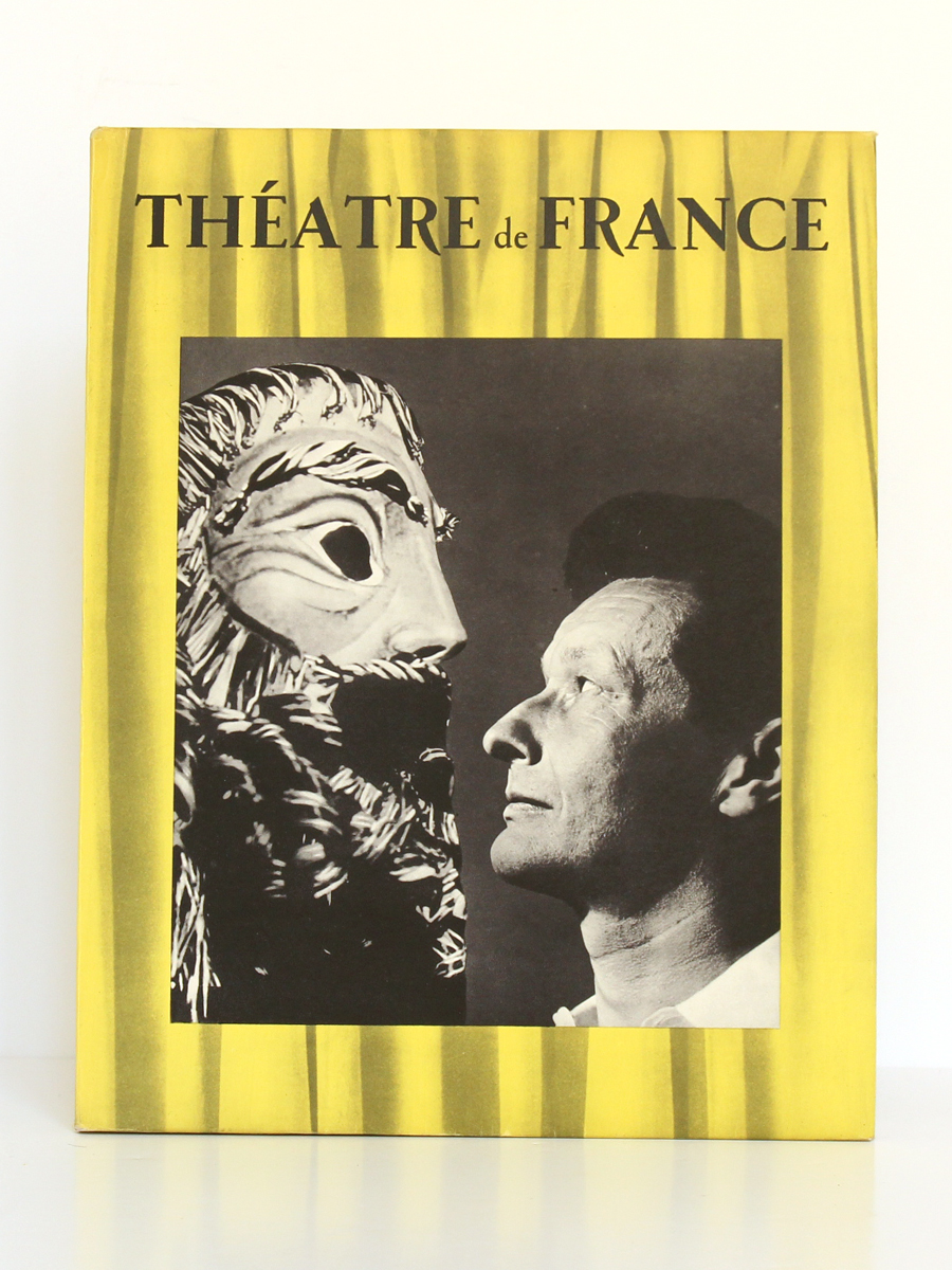 Théâtre de France V. Les Publications de France, 1955. Couverture.