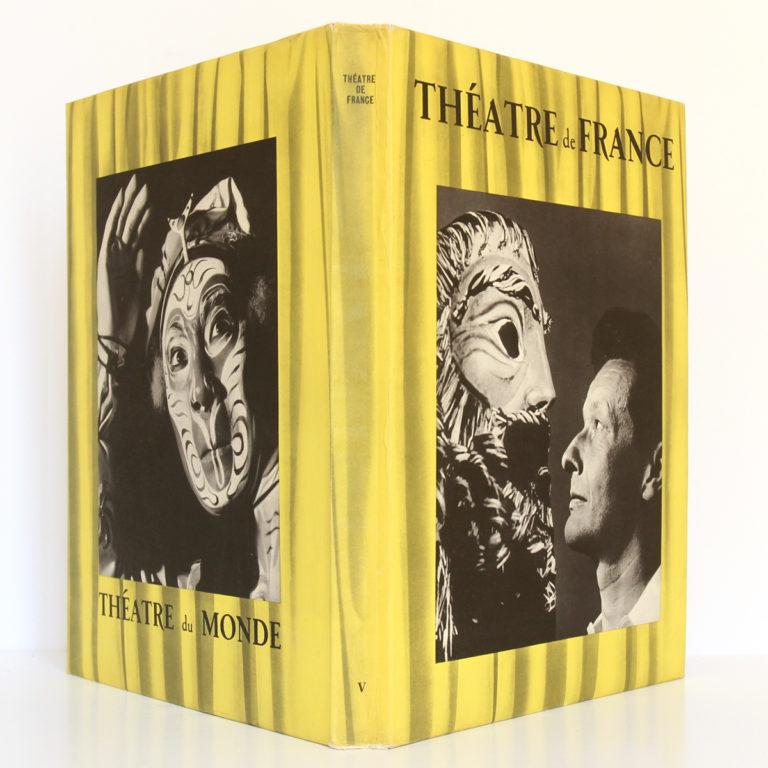 Théâtre de France V. Les Publications de France, 1955. Couverture : dos et plats.