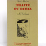 Traité du burin, Albert FLOCON. Illustré par l'auteur. Clancier-Guenaud, 1982. Couverture.