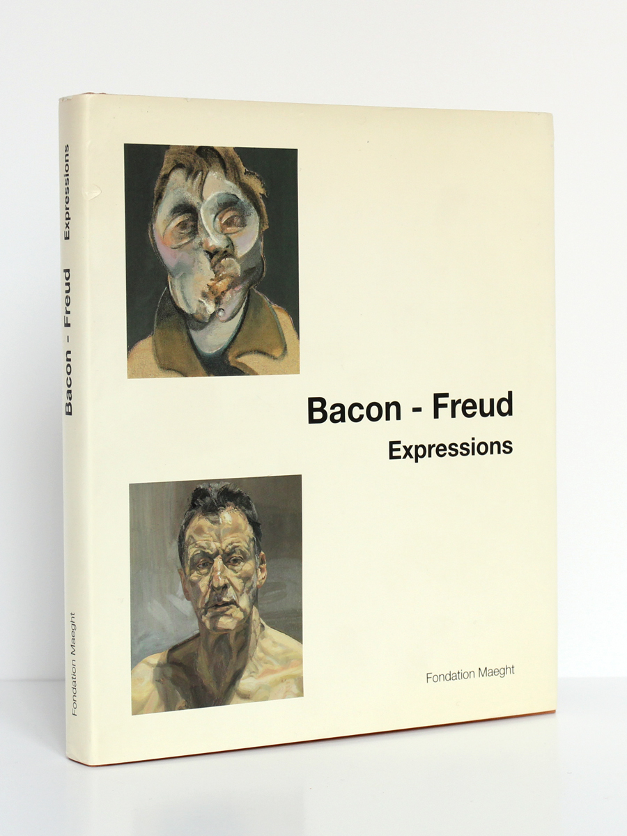 Bacon - Freud Expressions. Fondation Maeght 1995. Couverture.