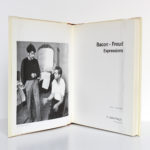 Bacon - Freud Expressions. Fondation Maeght 1995. Frontispice et page-titre.