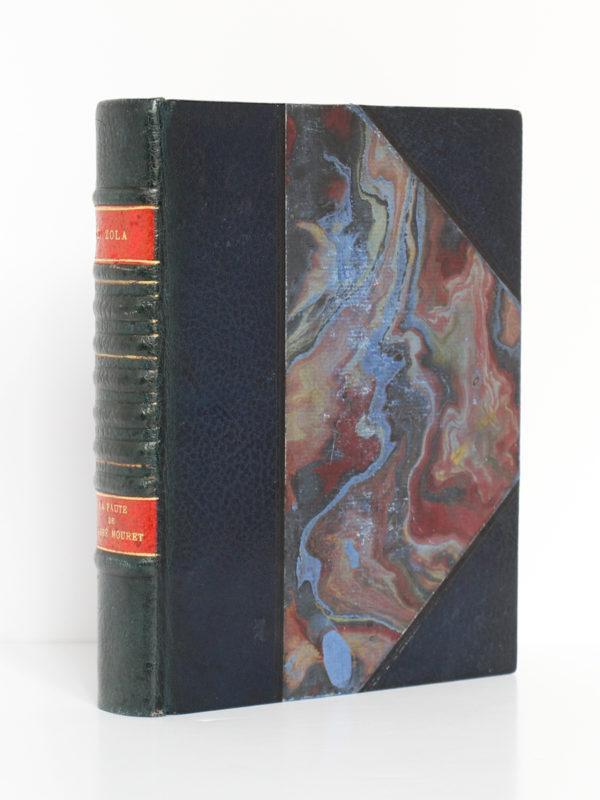 La Faute de l'abbé Mouret, Émile ZOLA. Bois de Maurice ACHENER. Chez G. & A. Mornay Libraires, 1922. Reliure.