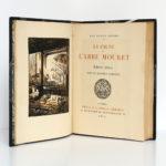 La Faute de l'abbé Mouret, Émile ZOLA. Bois de Maurice ACHENER. Chez G. & A. Mornay Libraires, 1922. Frontispice et page titre.