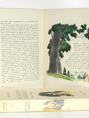 Les Liaisons dangereuses, CHODERLOS DE LACLOS. Illustrations de Maurice LEROY. En 2 tomes. Éditions du Charme, 1941. Pages intérieures du volume 1.