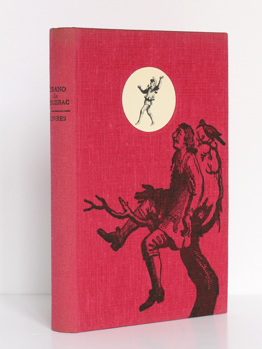Œuvres, CYRANO DE BERGERAC. Le club français du livre, 1957. Couverture.