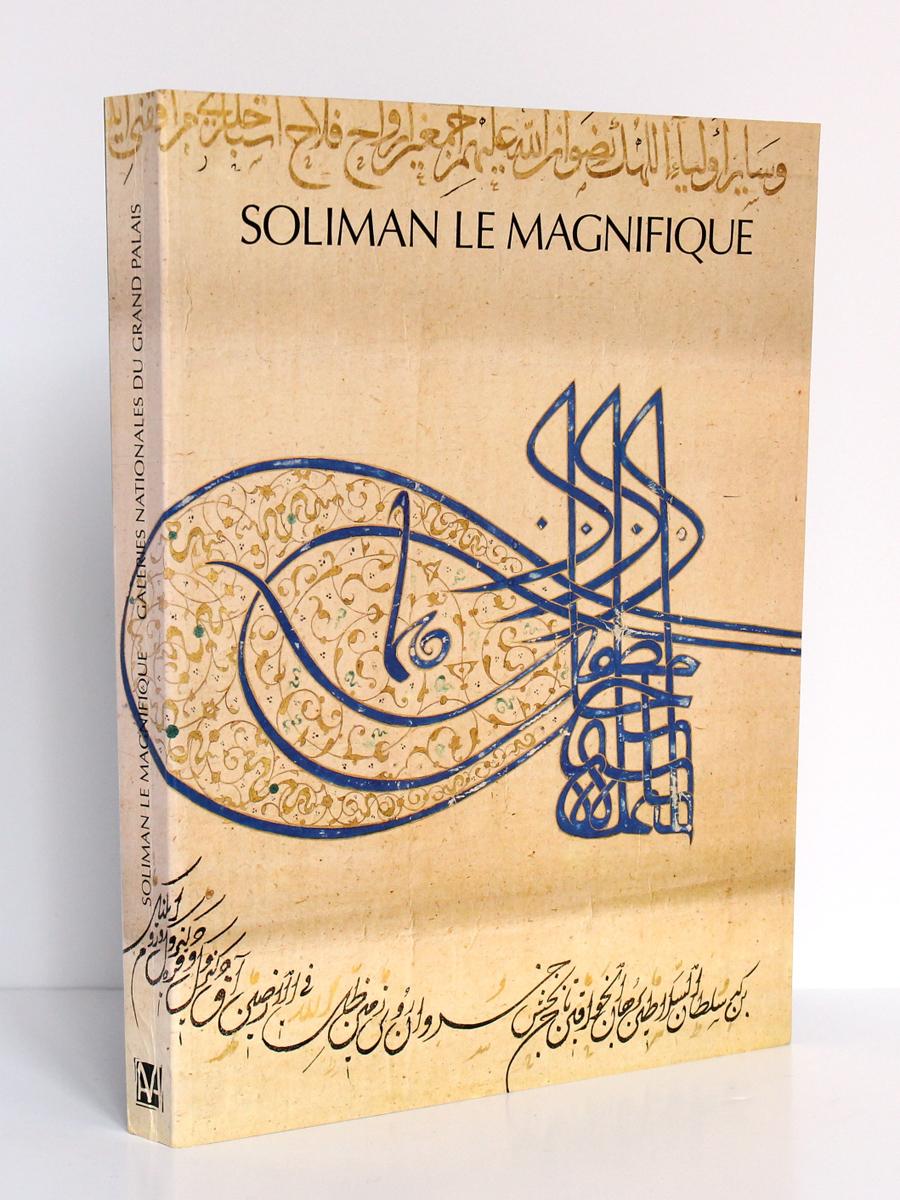 Soliman le Magnifique. Catalogue de l'exposition du Grand Palais, à Paris, en 1990. Couverture.