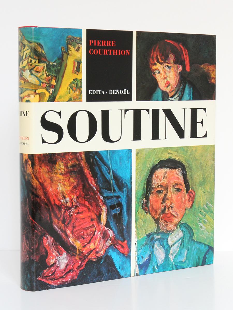 Soutine Peintre du déchirant, Pierre COURTHION. Edita-Denoël, 1972. Couverture.
