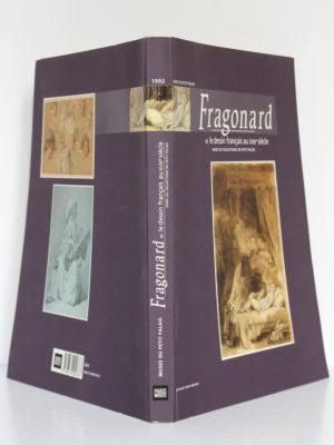 Fragonard et le dessin français au XVIIIe siècle. Musée du Petit Palais 1992-1993. Couverture : dos et plats.