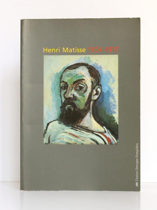 Henri Matisse 1904-1917. Catalogue de l'exposition au Centre Pompidou, à Paris, en 1993. Couverture.
