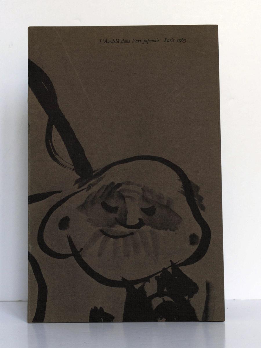 L'au-delà dans l'art japonais. Catalogue de l'exposition du Petit Palais, Paris, 1963. Couverture.