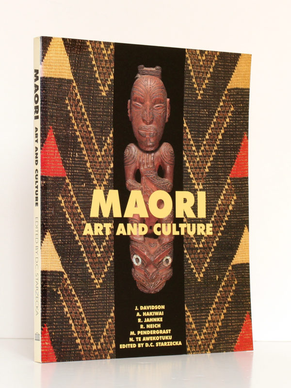 Maori Art and Culture. British Museum Press, 1998. Couverture.