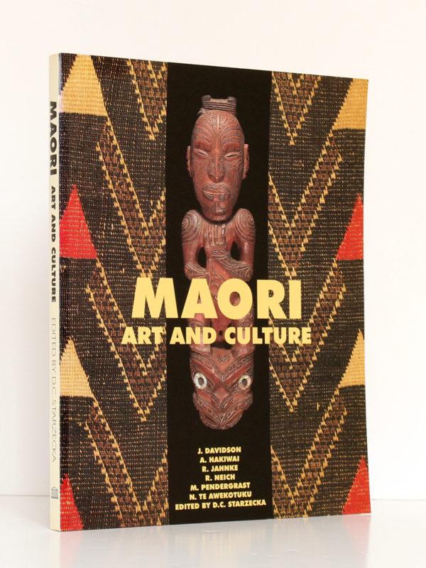 Maori Art and Culture. British Museum Press, 1998. Couverture.