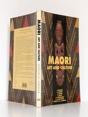 Maori Art and Culture. British Museum Press, 1998. Couverture : dos et plats.