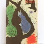 Miro Œuvre gravé. Maeght Éditeur, 1990. Couverture.