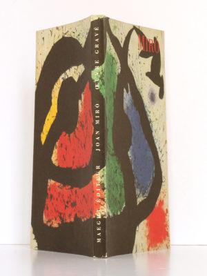 Miro Œuvre gravé. Maeght Éditeur, 1990. Couverture : dos et plats.