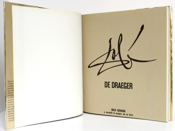 Dali, Max Gérard. De Draeger, 1968. Pages intérieures 1.