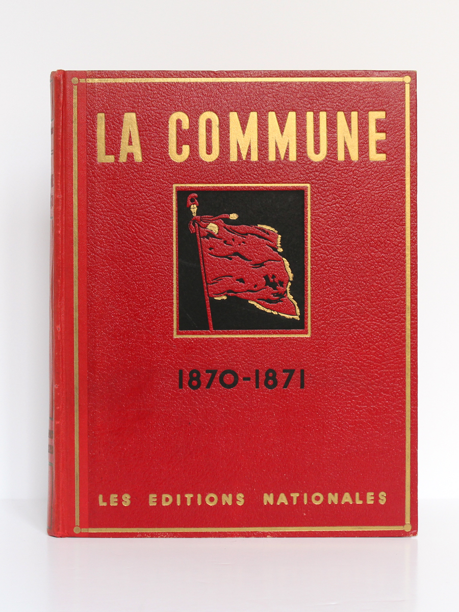 La Guerre de 1870-1871 et la Commune, Georges BOURGIN. Flammarion, 1947. Couverture.