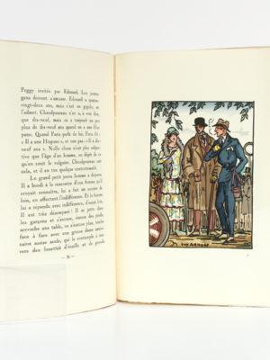 Dans le Monde où l'on s'abuse, Jean FAYARD. Illustrations : Guy ARNOUX, MARTY, SEM, CHAS-LABORDE. Fayard, 1925. Pages intérieures.