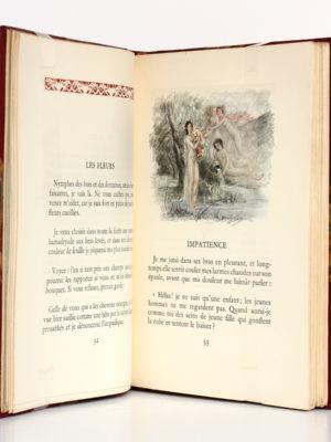 Les Chansons de Bilitis, Pierre LOUYS. Illustrations de Paul-Émile BÉCAT. L'Édition d'art H. Piazza, 1943. Pages intérieures.