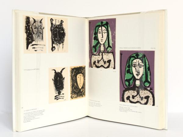 Picasso lithographe, Fernand MOURLOT. André Sauret - Éditions du livre, 1970. Pages intérieures 2.