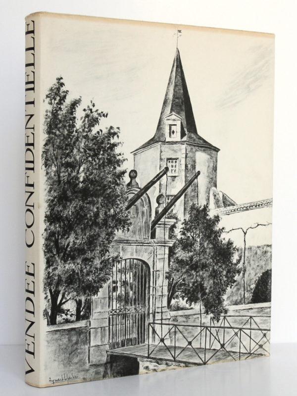 Vendée confidentielle, Louis CHAIGNE. ILlustrations de Aymar de LÉZARDIÈRE. Mame, 1965. Couverture.