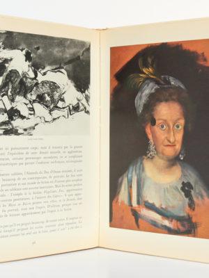 Saturne, Essai sur Goya, par André MALRAUYX. nrf-Gallimard, 1950. Pages intérieures 1.
