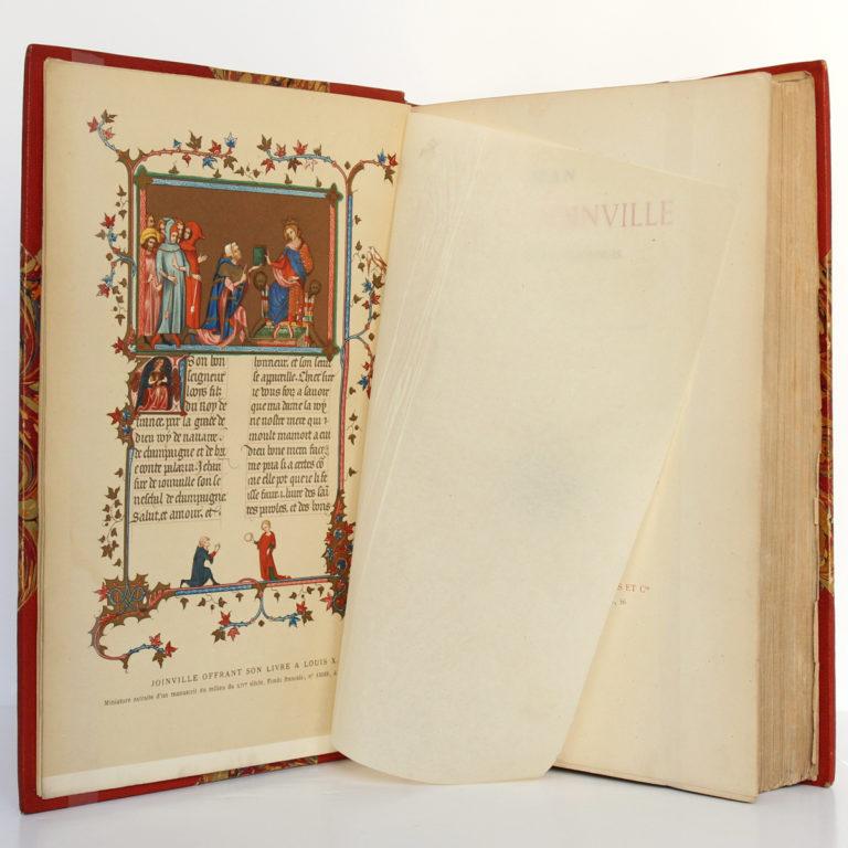 Jean Sire de Joinville, Histoire de Saint Louis, Natalis de WAILLY. Firmin Didot Frères, 1874. Frontispice.