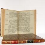 La Guerre de 1914-1918. Cours d'histoire. Colonel DUFFOUR. École supérieure de guerre, 1923. 2 volumes. Pages intérieures du volume de textes.