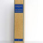 Les fausses confidences, Marivaux. Illustrations de Paul-Émile BÉCAT. Éditions Arc-en-Ciel, 1953. Livre et chemise dans l'étui.