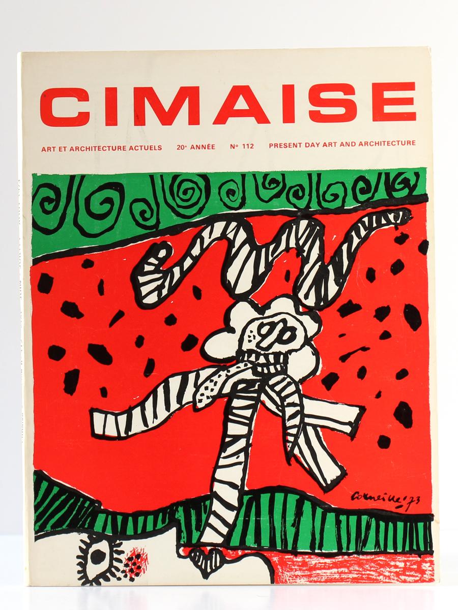 Cimaise, numéro 112. Mai-août 1973. Couverture.