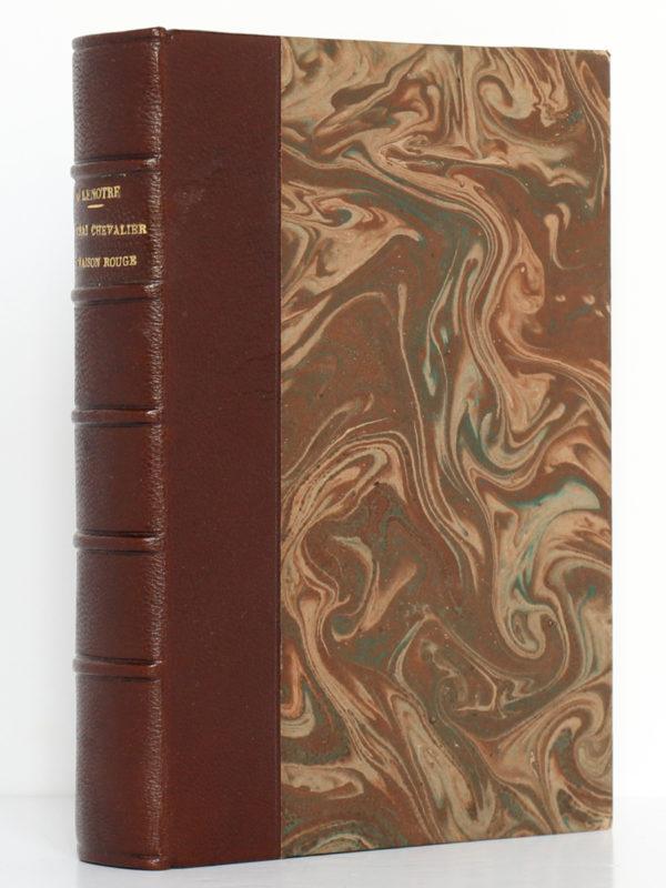 Le vrai chevalier de Maison-Rouge, G. LENOTRE. Perrin et Cie, 1906. Reliure.