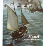 Manet and the sea, catalogue de l'exposition de 2003 et 2004. Couverture.