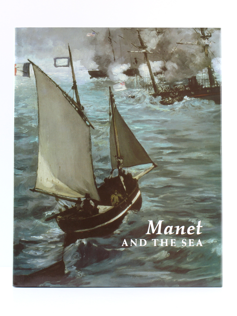 Manet and the sea, catalogue de l'exposition de 2003 et 2004. Couverture.