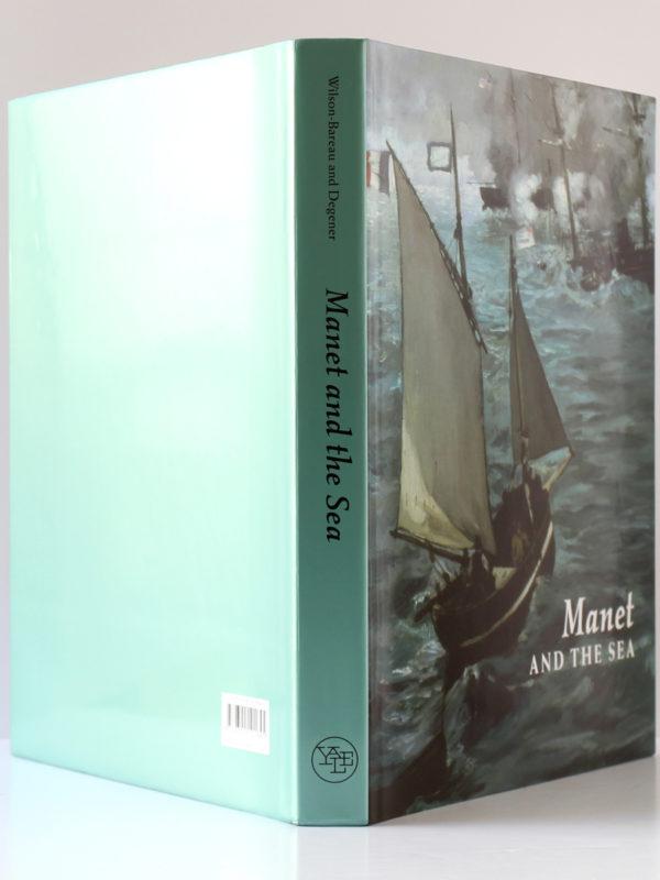 Manet and the sea, catalogue de l'exposition de 2003 et 2004. Jaquette : dos et plats.