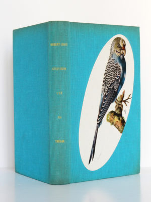 L'Île au trésor, Robert-Louis STEVENSON. Le Club français du livre, 1958. Reliure : dos et plats.