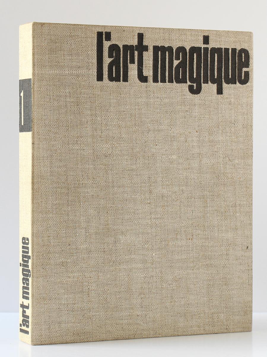 L'art magique, André BRETON. Club français de l'art, 1957. Reliure.