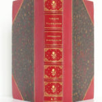 Contemplations scientifiques (Première série), Camille Flammarion. Librairie Hachette & Cie, 1876. Reliure : dos et plats.