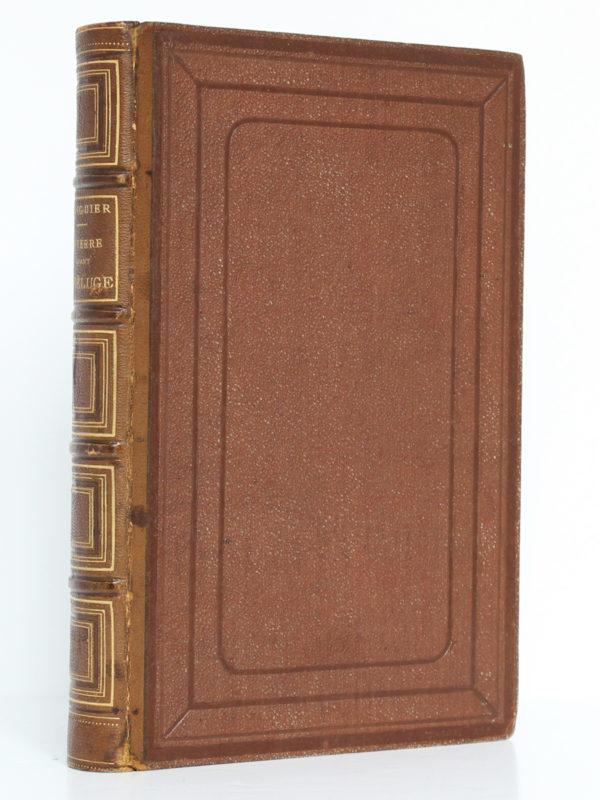 La Terre avant le déluge, Louis FIGUIER. Hachette, 1864. Reliure.