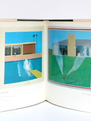 David Hockney by David Hockney, Nikos STANGOS. Thames & Hudson, 1976. Pages intérieures 1.
