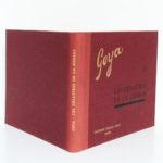 Les désastres de la guerre, Goya. Éditions Cercle d'Art, 1955. Reliure.