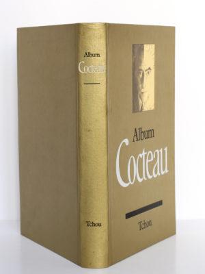 Album Cocteau, Pierre Chanel. Tchou éditeur, 1970. Couverture : plats et dos.